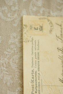 他の写真2: アンティークポストカード / パニエに入ったスミレと四つ葉のクローバー