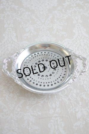 画像1: デコラティブなデザインの盛り皿 (水切りプレート付)